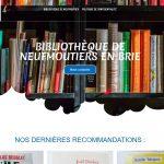 Site de la bibliothèque de Neufmoutier en Brie